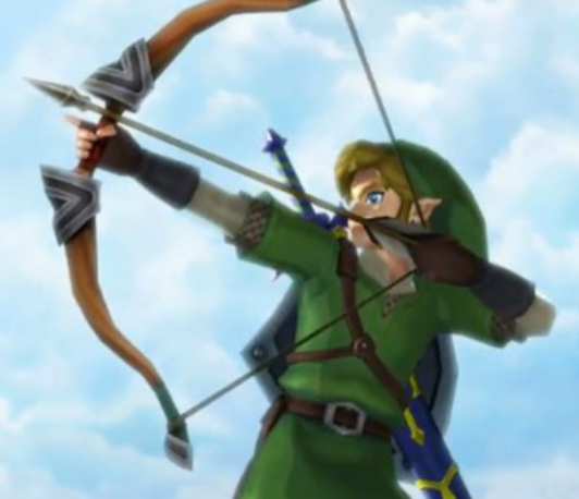 famous archery game legand of zelda