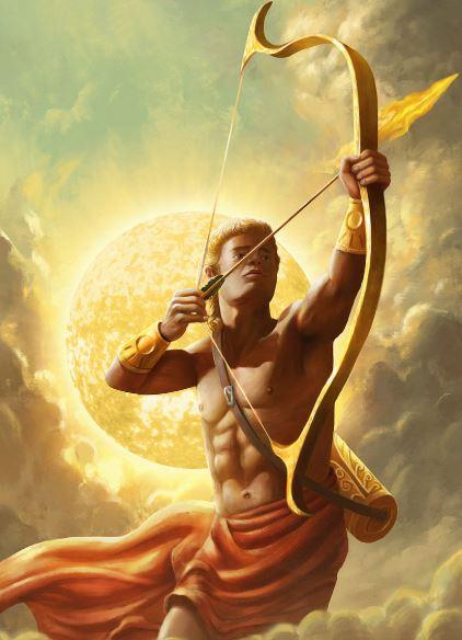 mythological archer apollo