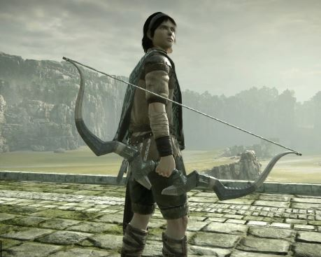 shadow of the colossus archer
