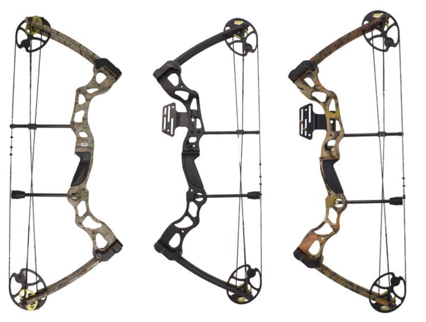 colorful sas rage compound bow