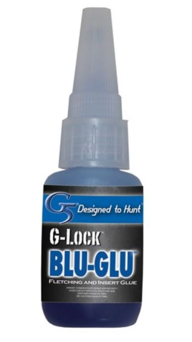 g5 g lock blu fletching glue