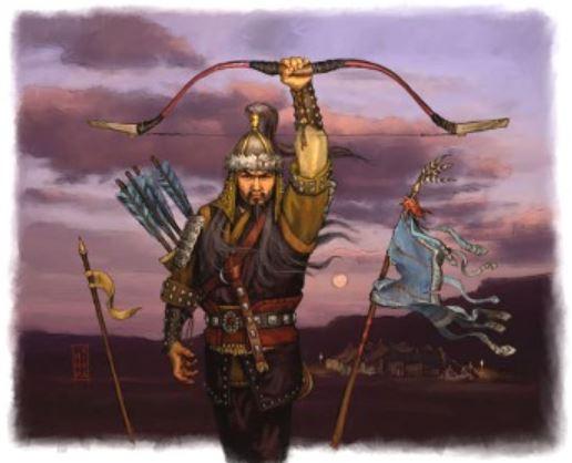 genghis kahn archers army