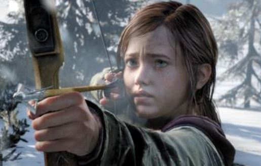 archery ellie in last of us game