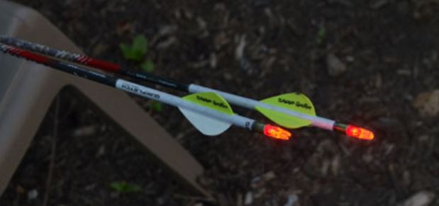 nock with led light