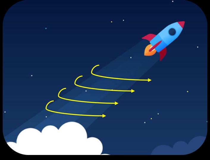shace rocket movement