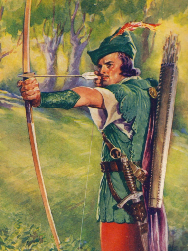 historical archer robin hood