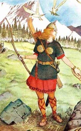 legendary archery Skadi