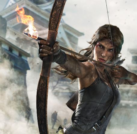 famous archery game tomb raider