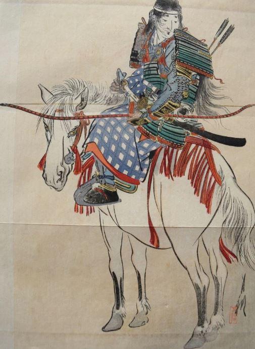 female archer tomoe gozen