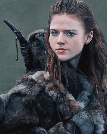 famous fiction archer ygritte with her bow